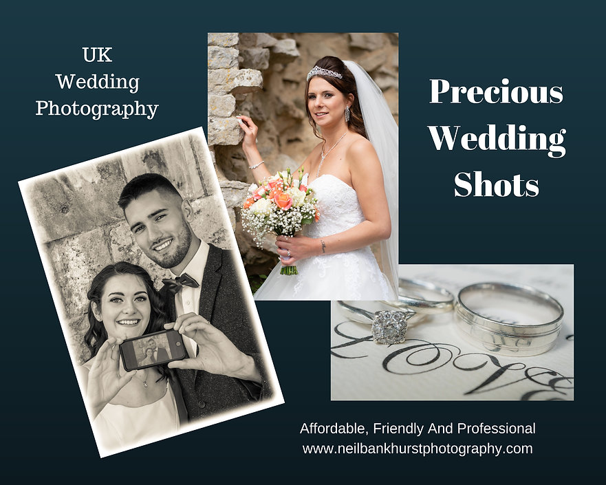 Precious Wedding Shots - Affordable Friendly and Professional Wedding Photography across the UK. Great Deals.