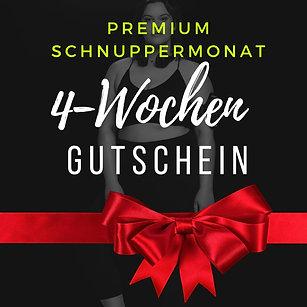 4-Wochen Premium Gutschein