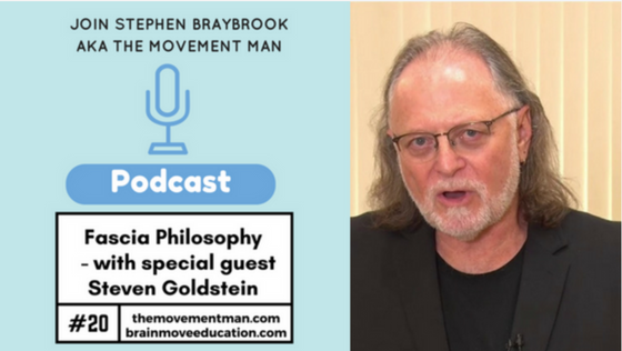 Podcast with the Movement Man - Stephen Braybook #20 Fascial Philosophy