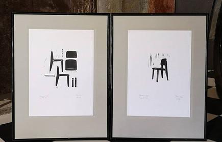 Retro Chaise, gravure