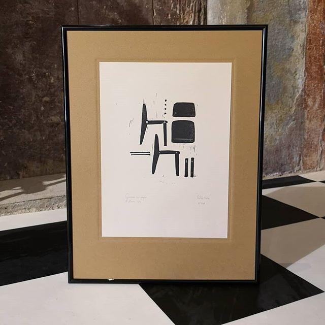 """""""Rétro-chaise""""  Gravure"""
