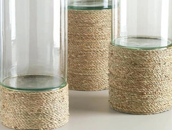 Long Vase En Cercle