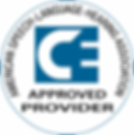 Approved ASHA CE Provider