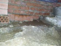 footings water ingress