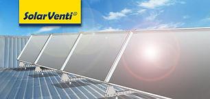 SolarVenti solar collector