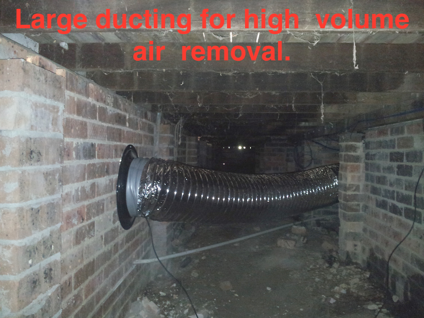 High volume ducting