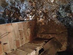 Brick pier erosion