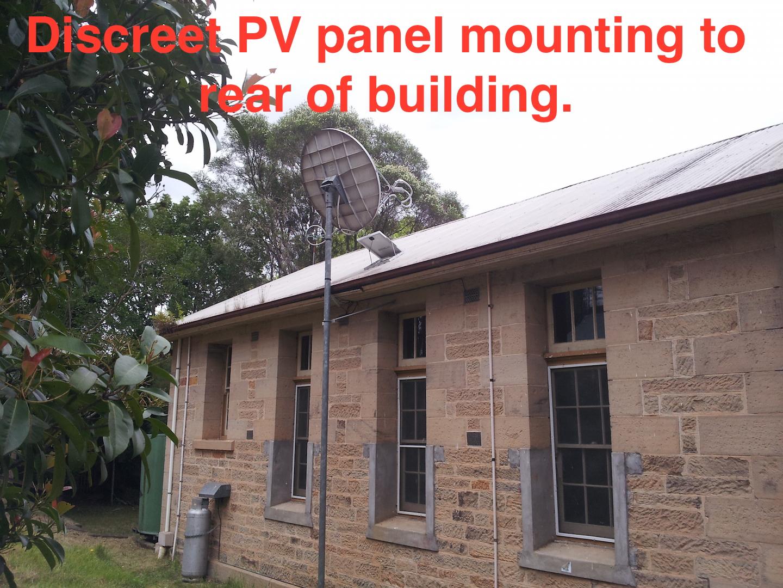 Historic building fans