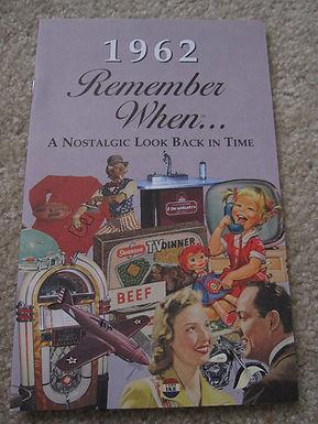 1962 Remember When Kardlet