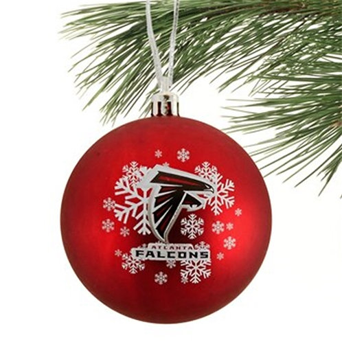 Falcons Shatter-Proof Ball Ornament
