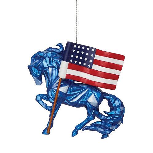 Wild Blue - Remembering 9/11 Ornament