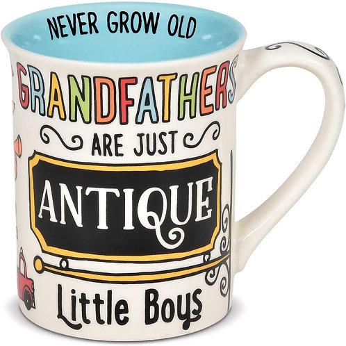 """16oz .....   """"Grandfather's Antique"""" Mug ..... by Our Name I"""