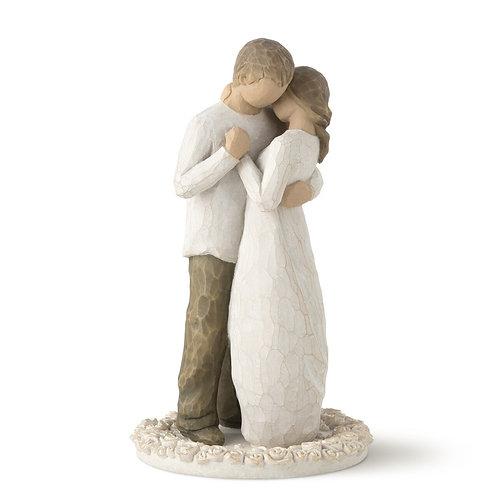 Promise Figurine / Cake Topper ..... Demdaco Willow Tree