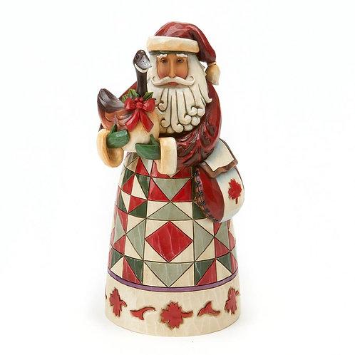 Revel in a Reveillion Canadian Santa