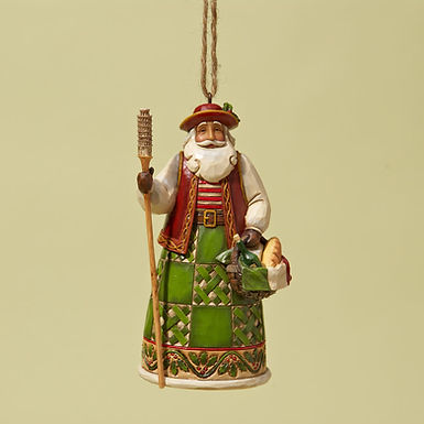 Italian Santa Ornament