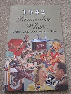 1942 Remember When Kardlet