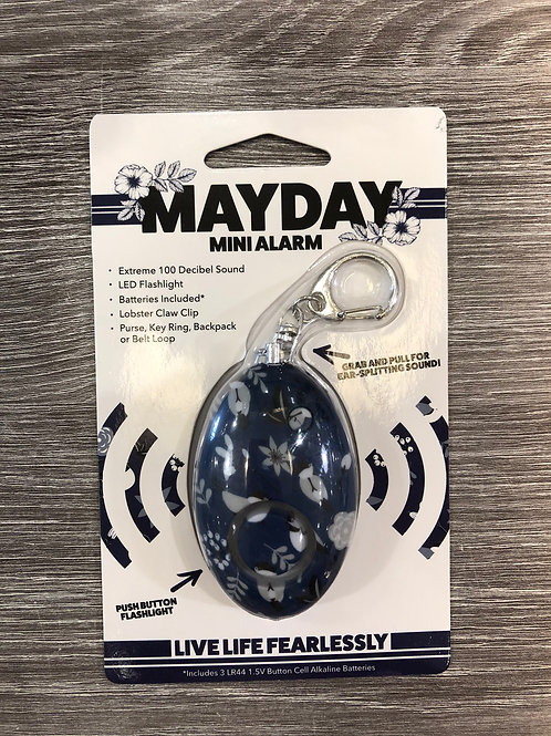 MAYDAY Mini Alarm Navy Blue