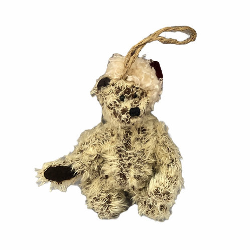 Boyds Bear Plush .....Beauford B.........Bear With Santa Hat