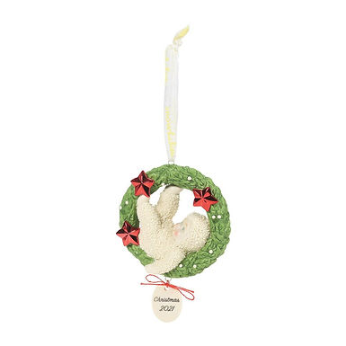 Hanging Out Dated 2021 Christmas Ornament