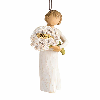 2019 dated Angel Ornament ..... Willow Tree by Demdaco