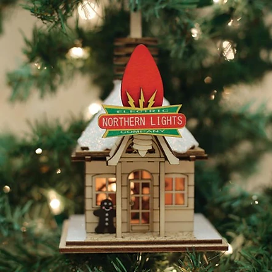 Northern Lights Electric Company ..... Ginger Cottages Figurine / Ornament