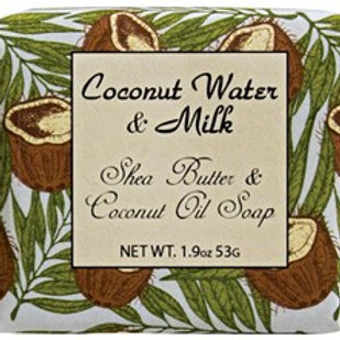 Habersham Coconut Water & Milk ..... Shea Butter and Coconut Oil Soap ..... 1