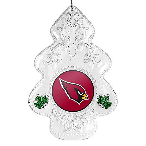 Cardinals Acylic Tree - Cut Crystal Design Ornament
