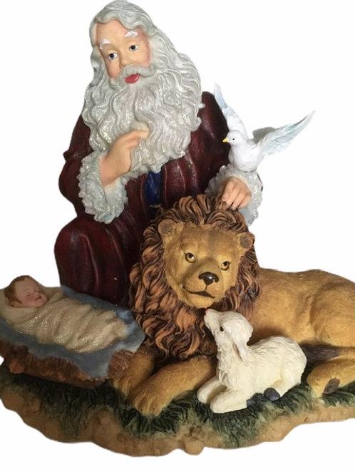 The Magic Of Christmas ..... Santa With Christ Child