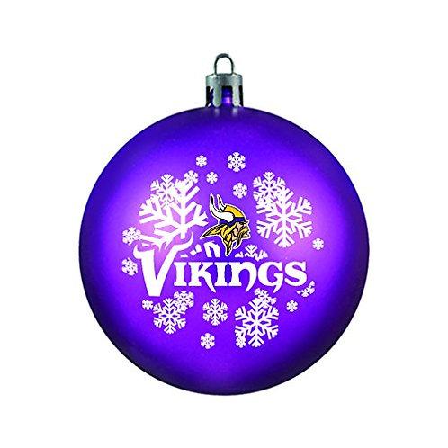 Vikings Shatter-Proof Ball Ornament