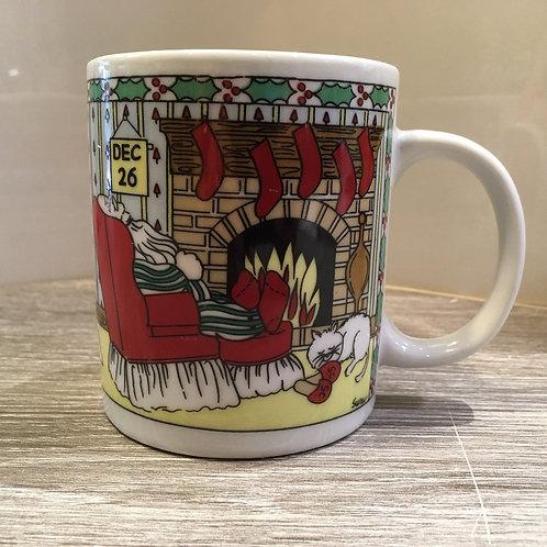Holiday Santa & Tree Mug