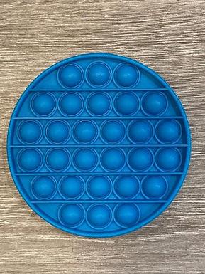 Blue Circle Waffle Pops