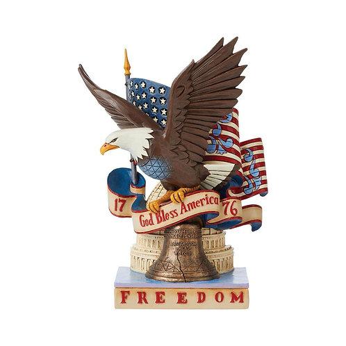 Patriotic Freedom Eagle