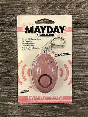 MAYDAY Mini Alarm Pink
