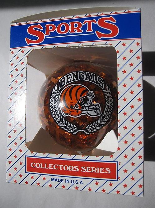 Bengals Confetti Ball Ornament