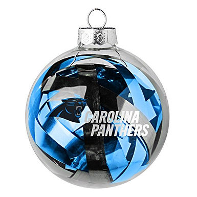 Panthers Tinsel Ball Ornament