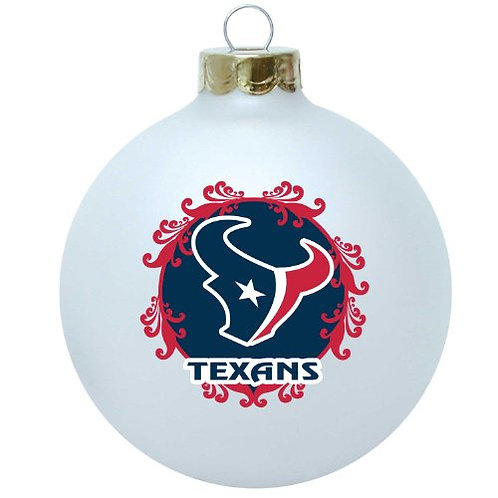 Texans Large Ball Ornament