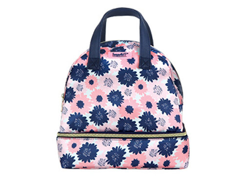 TempaMATE Thermal Tote - Pink & Blue Flower Pattern