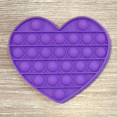 Purple Heart Waffle Pops