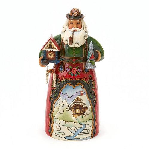 Frohe Wehnachten German Santa