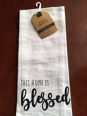 This Home Is Blessed ..... Bistro Towel