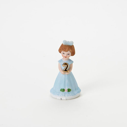 Grow Up Girls Brunette Age 2 ..... by Enesco