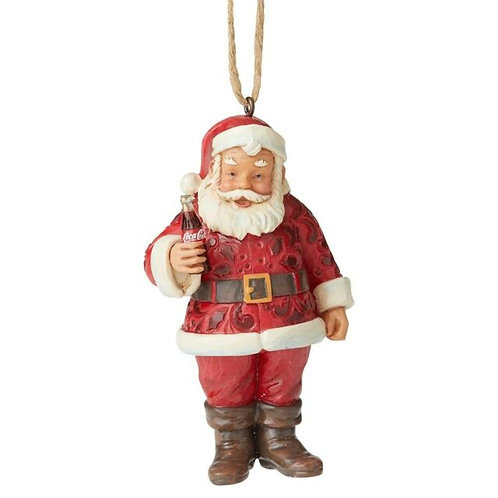 Santa with Coca-cola Ornament