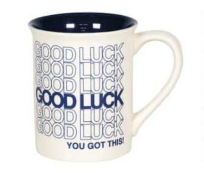 Our Name is Mud Good Luck Mug