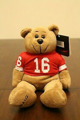 Plush Classic Collecticritter Limited Edition Bear ..... Joe Montana