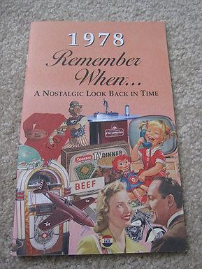 1978 Remember When Kardlet