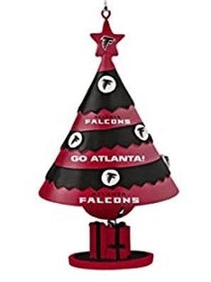 Falcons Bell Tree Ornament