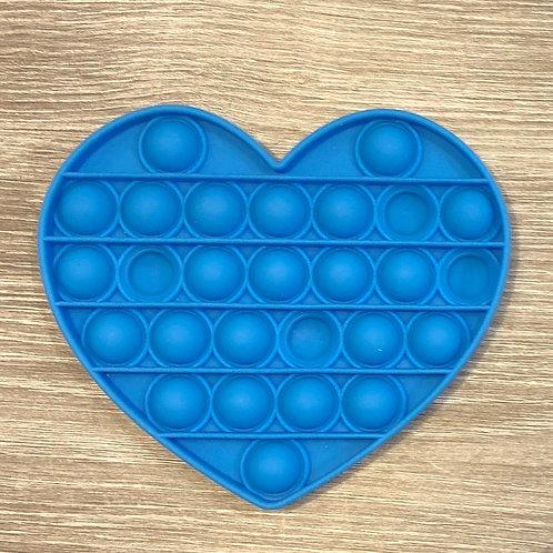 Blue Heart Waffle Pops