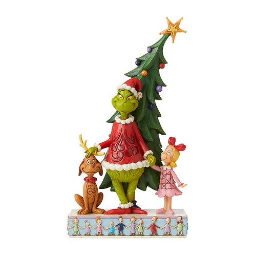 Grinch, Max and Cindy Decorating Tree