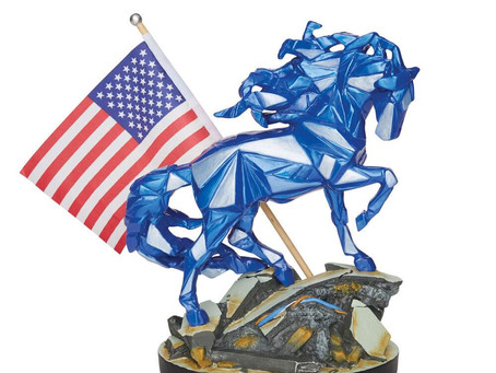 Wild Blue - Remembering 9/11 (Trail of Painted Ponies)