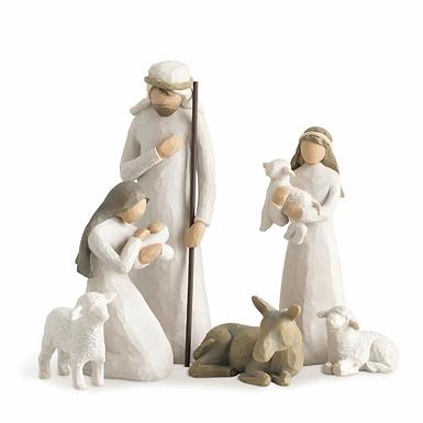Nativity - 6 piece set {style #26005} ..... Willow Tree by Demdaco